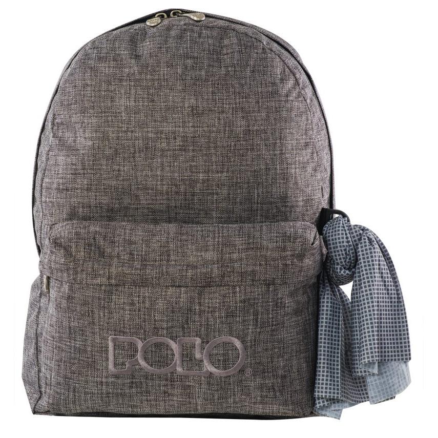 b1c74dade44 Σχολική Τσάντα Polo ORIGINAL DOUBLE BAG JEANS 2016 (Διαθέσιμο σε 6 ...